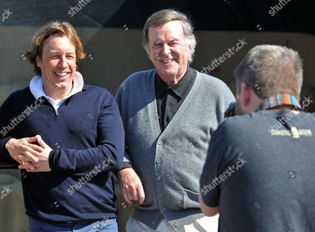 Stock Image of Mason McQueen and Sir Terry Wogan