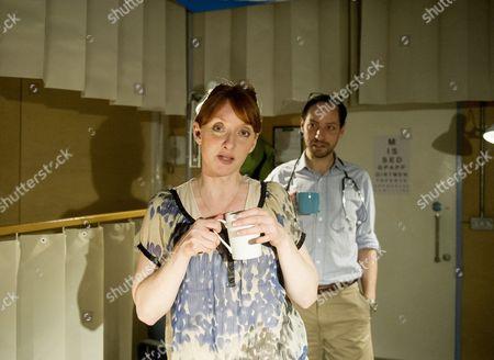 Elizabeth Berrington as Louise, Philip Arditti as Jonathan