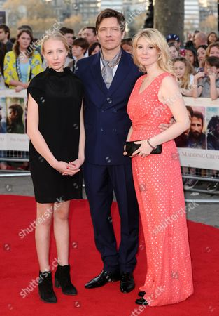 Editorial image of 'Far From The Madding Crowd' film premiere, London, Britain - 15 Apr 2015