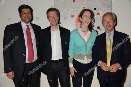 Altaf Ladak, Nigel Hurst, Jessica Fulford-Dobson and Sir Richard Stagg