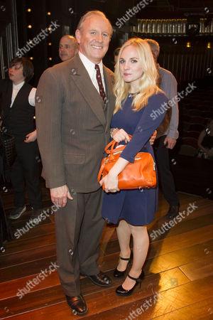 Stock Photo of Peter Davison (Herbie) and Georgia Moffett backstage