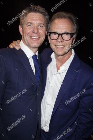 Nicholas Skilbeck (Musical Director) and Jonathan Kent (Director) backstage