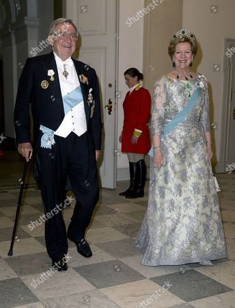 King Constantine and Queen Anne Marie of Greece