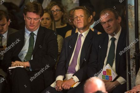 Danny Alexander, David Laws and Ed Davey