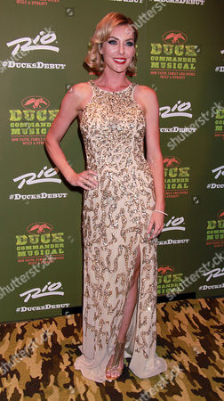 Editorial picture of Duck Commander Musical, Opening Night, Las Vegas, America - 15 Apr 2015