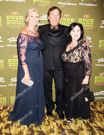 Stock Image of Alan Robertson, Lisa Robertson,Miss Kay Robertson