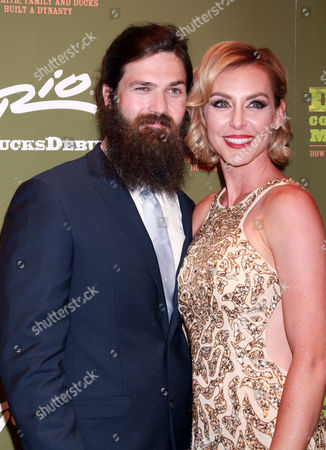 Editorial photo of Duck Commander Musical, Opening Night, Las Vegas, America - 15 Apr 2015