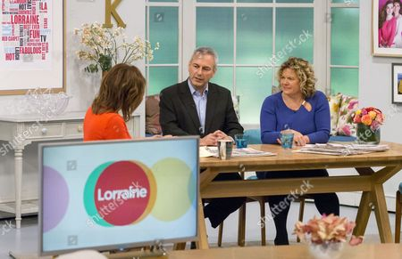 Lorraine Kelly with Kevin Maguire and Eleanor Mills