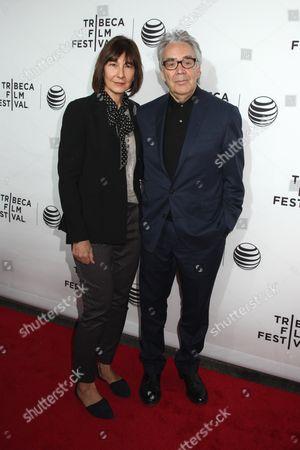 Elizabeth Cotnoir and Howard Shore