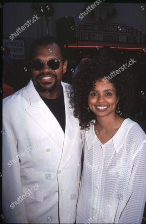 Charles Dutton and Debbie Morgan