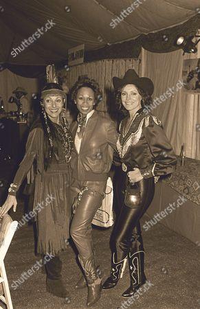 Veronique Peck, Altovise Davis, Joanna (Holland) Carson