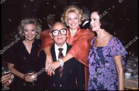 Irving 'Swifty' Lazar and Barbara Sinatra