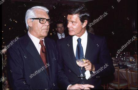 Cary Grant and Louis Jourdan