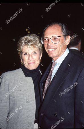 Irwin Winkler and his wife Margo Winkler
