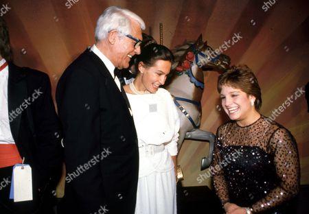 Cary Grant, Barbara Harris, and Mary Lou Retton