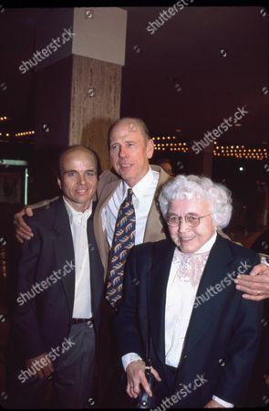 Clint Howard, Rance Howard and Joan Howard