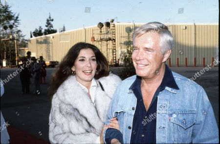 Alexis Adams and George Peppard