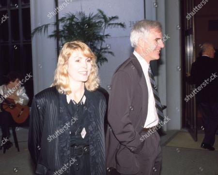 Victoria Tennant and Steve Martin