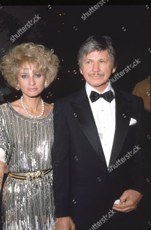 Stock Picture of Jill Ireland and Charles Bronson