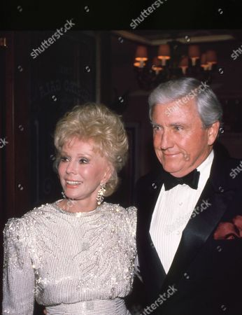 Stock Photo of Eva Gabor and Merv Griffin