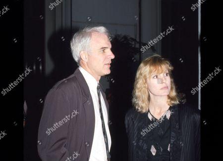 Steve Martin and Victoria Tennant