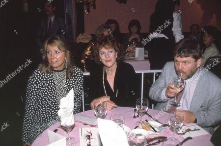 Teri Garr, Lynn Redgrave and John Clark