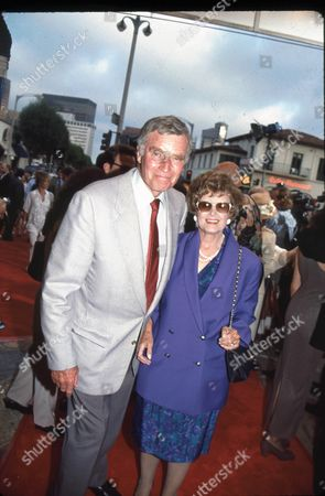Charlton and Lydia Heston