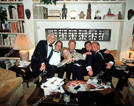 Kirk Douglas and family