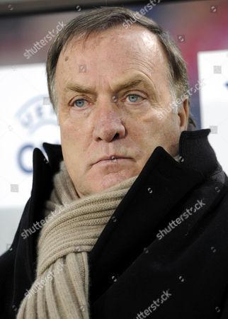 Stock Picture of Dirk Nicolaas Dick ADVOCAAT, coach, Zenit St. Petersburg