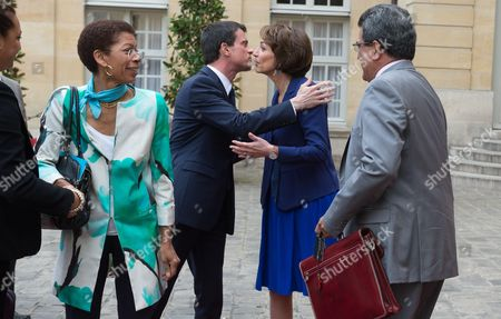 Editorial picture of President of French Polynesia Edouard Fritch visit to France - 16 Apr 2015