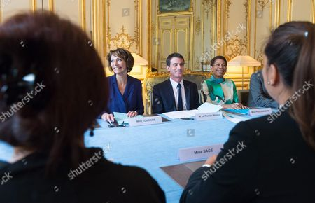 Editorial photo of President of French Polynesia Edouard Fritch visit to France - 16 Apr 2015