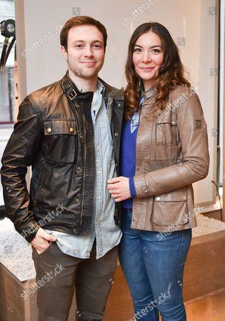Pablo Puyol and Serena Mazza