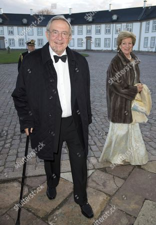 Ex King Constantine and Queen Anne-Marie   of Greece