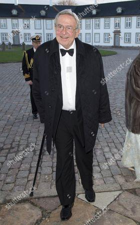 Editorial photo of Queen Margrethe II 75th birthday celebrations, Dinner at Fredensborg Palace, Copenhagen, Denmark - 16 Apr 2015