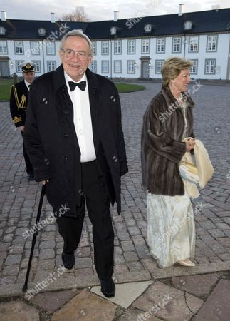 Ex King Constantine and Queen Anne-Marie