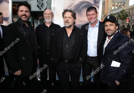 Keith Rodger, Andrew Mason, Russell Crowe, James Packer, Brett Ratner
