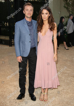 Stock Picture of Tom Felton and Jade Olivia