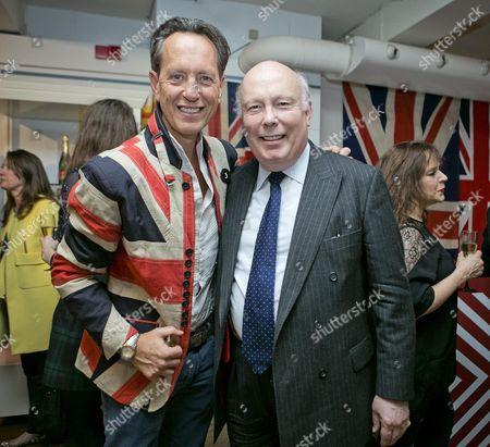 Stock Picture of Richard E. Grant And Julian Fellows (right) Richard E. Grant Launches His Debut Fragrance 'jack' At Liberty.