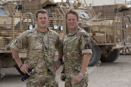 Bomb Disposal Experts Staff Sergeant Lee Hughes Right And His Younger Brother Warrant Officer Kim Hughes Who Was Awarded The George Cross After An Earlier Tour. See Ian Drury Story.