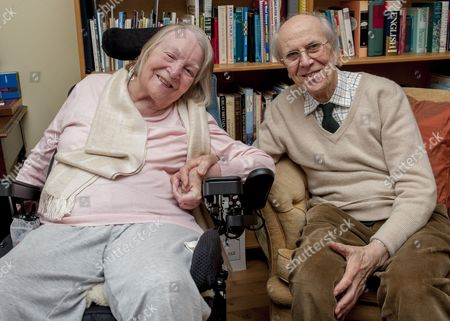 Editorial image of Sir Norman Tebbit With His Wife Margaret At Their Home In Bury St Edmunds.