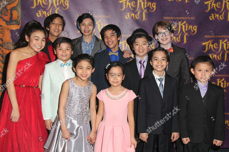 Jake Lucas with the Royal Children cast members