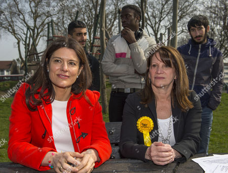Editorial photo of Liberal Democrats general election campaigning, London, Britain - 17 Apr 2015