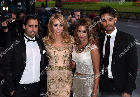 Lydia Bright, Tasmin Lucia-Khan and Junaid Zaman