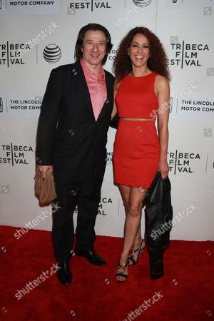 Yvonne Maria Schaefer (L) and actor Federico Castelluccio