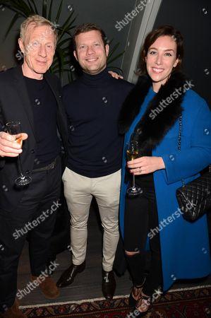 Philip Start, Dermot O'Leary and Dee Koppang