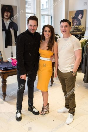 Editorial image of Pretty Green store spring fashion launch, Manchester, Britain  - 17 Apr 2015