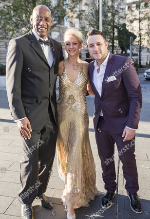 Shaun Wallace, Jenny Gayner and Antony Costa