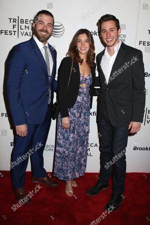 Matthew Delamater, Maggie Castle and Gabe Gibbs