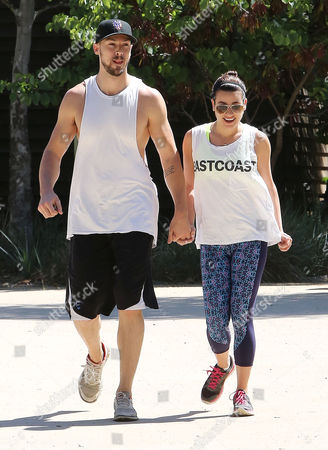 Matthew Paetz and Lea Michele