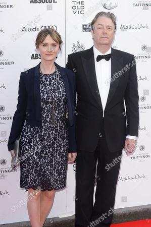 Rebecca Saire and Roger Allam